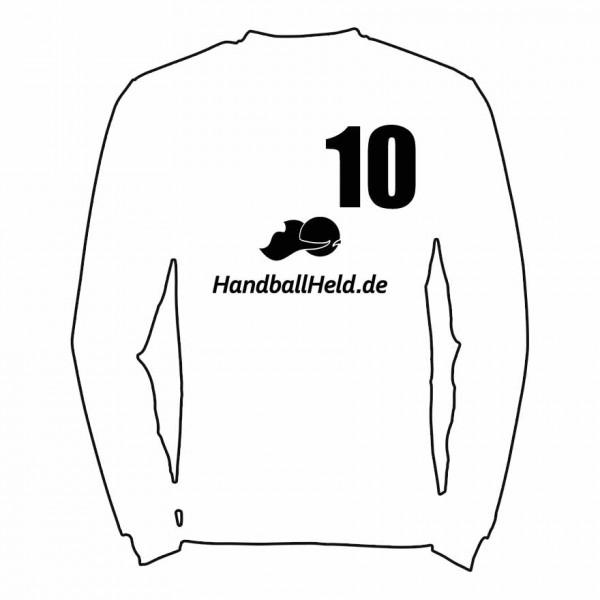 Spielernummer und Logo Handballheld