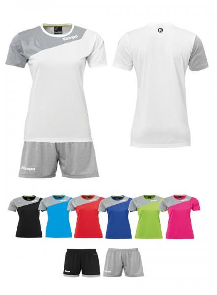 Damen Shirt und Shorts von Kempa 2farbig