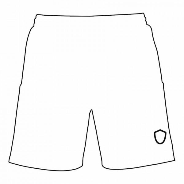 Druckpositionen und Druckfarbe wählen für Shorts Vorderseite