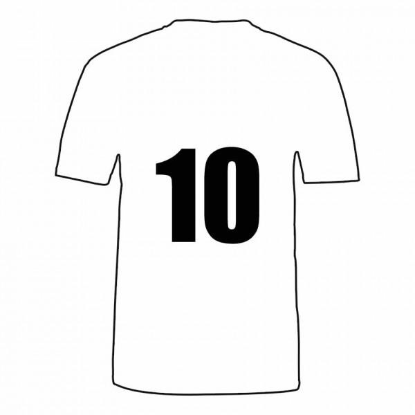Druckpositionen und Druckfarbe wählen für Shirt Rückseite