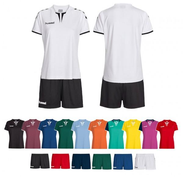 Set: Shirt & Shorts Hummel Core Women sponsored by handballheld.de